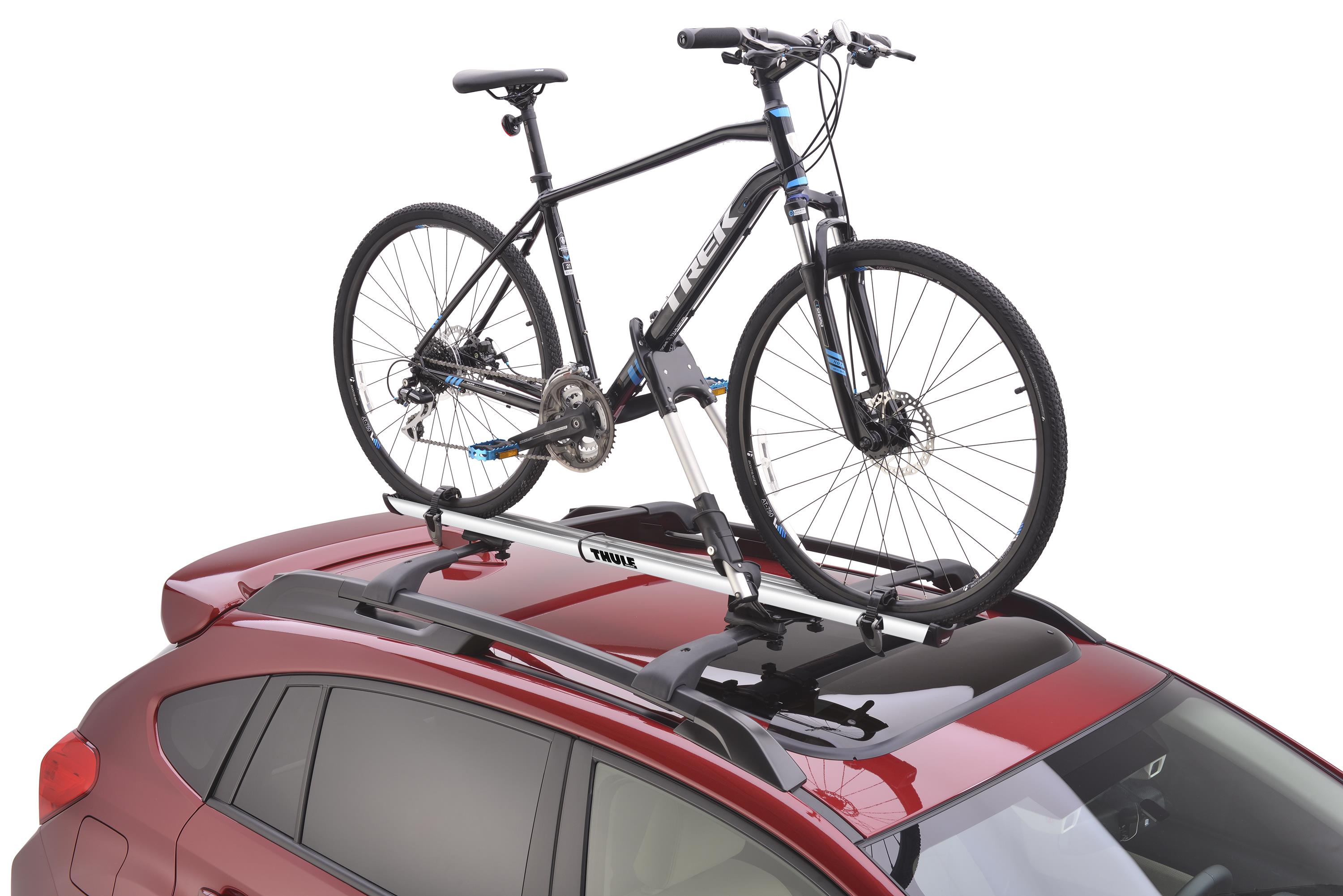 2018 Subaru Forester Thule 174 Bike Carrier Roof Mounted